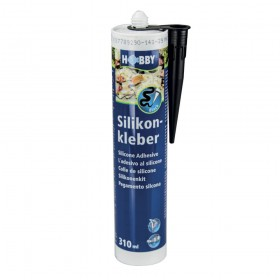 Tube de silicone Hobby Noir