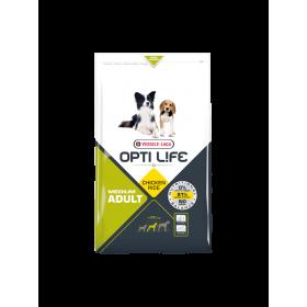 Croquettes Opti Life Adult Medium Poulet & Riz-Versele Laga-431142