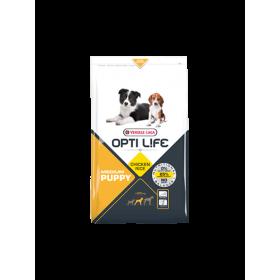 Croquettes Opti Life Puppy Medium Poulet & Riz