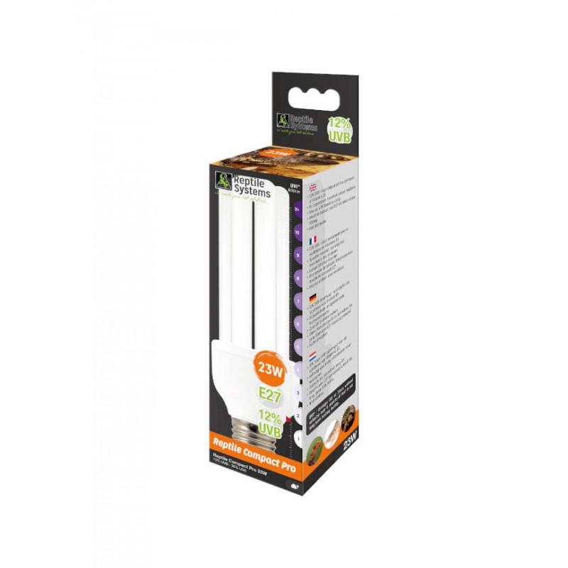 Lampe Compact Pro 12% UVB E27 Reptile Systems