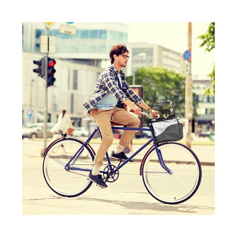 Panier vélo pour chien