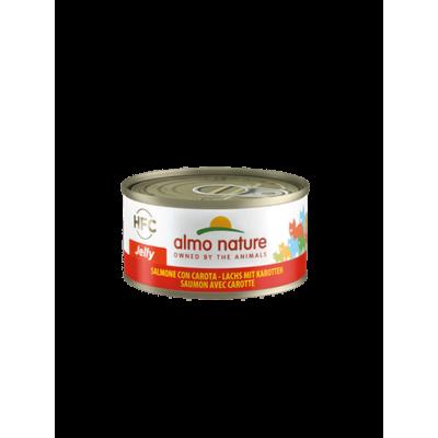 Almo Nature Pâtée HFC Jelly Saumon & Carotte Almo Nature 70 g ALC5032H