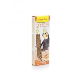 Bâtonnets Grandes Perruches miel & œuf Benelux