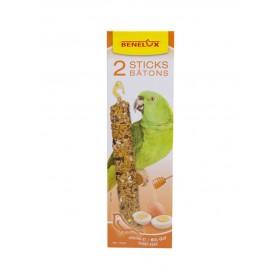 Bâtonnets XXL Perroquets miel & œuf Benelux