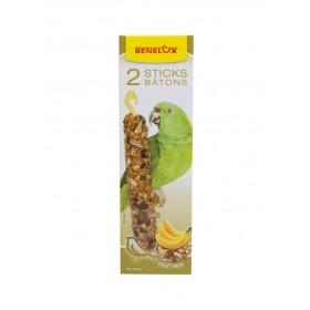 Bâtonnets XXL Perroquets noix & banane Benelux