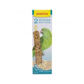 Bâtonnets XXL Perroquets popcorn & riz Benelux