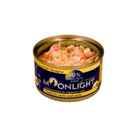 Alimentation naturelle thon, poulet & saumon Moonlight-Moonlight-964310