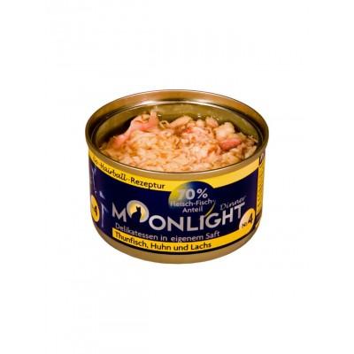 Moonlight Alimentation naturelle thon, poulet & saumon Moonlight 964310