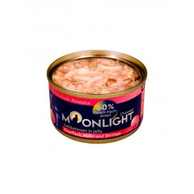 Alimentation naturelle thon, poulet & crevette Moonlight