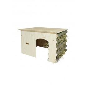 Abris en bois pour lapin & Cobaye--12821