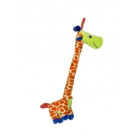 Jouet peluche Ropee Rascals Giraffe-Happy Pet-