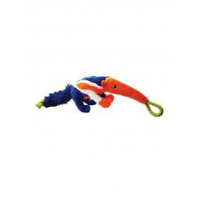 Jouet peluche Ropee Rascals Anteater-Happy Pet-