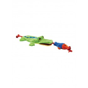 Jouet peluche Cordy Catcher Croc-Happy Pet-