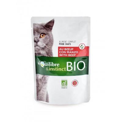 Equilibre & Instinct Pochons bio au Bœuf et aux légumes 100 g EM21