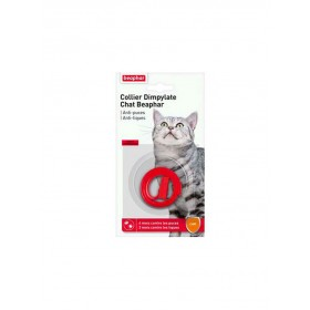 Collier Chat Antiparasitaire Dimpylate Beaphar