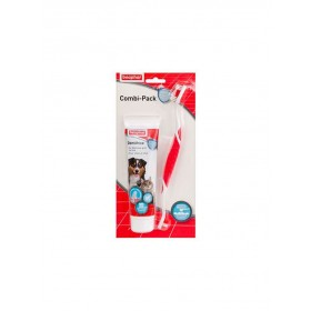 Brosse à dents + Dentifrice Chien & Chat Beaphar