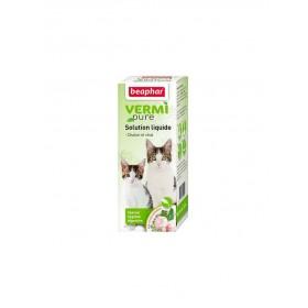 Solution aux plantes Chaton & Chat Beaphar VERMIpure 50 ml