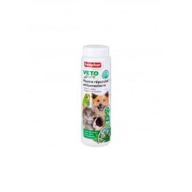 Poudre Répulsive Antiparasitaire Tous animaux Beaphar VETOpure 60 g
