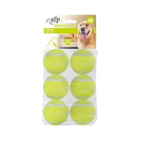Lot de 6 balles AFP Super Bounce Fetch
