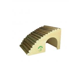 Maisonnette en bois pour lapin 29,5 x 20 x 20 cm
