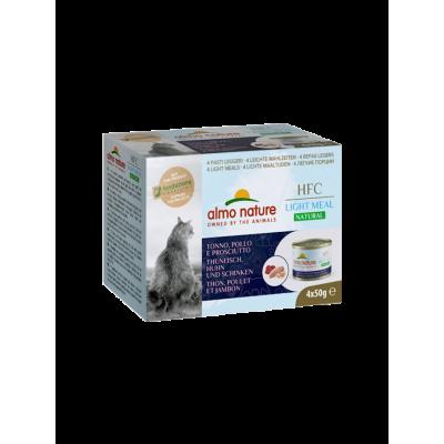 Almo Nature Menu Light Meal Thon, poulet & jambon 4 x 50 g Almo Nature ALC552MEGA