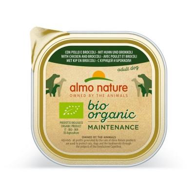 Almo Nature Pâtée BioOrganic Maintenance Poulet & Brocoli Almo Nature 300 g ALD332