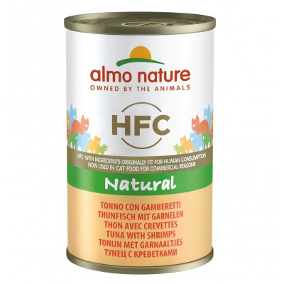 Almo Nature Pâtée HFC Natural Thon & Crevettes Almo Nature 280 g ALC5092H