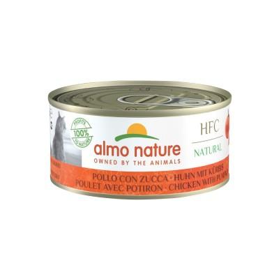 Almo Nature Pâtée HFC Natural Poulet & Potiron Almo Nature 150 g ALC5123H