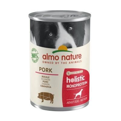 Almo Nature Pâtée Holistic Single Protein Porc Almo Nature 400 g ALD196