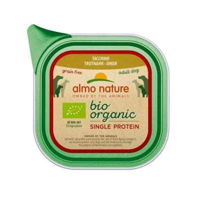 Almo Nature Pâtée BioOrganic Single Protein Sans céréale Dinde Almo Nature 150 g ALD203
