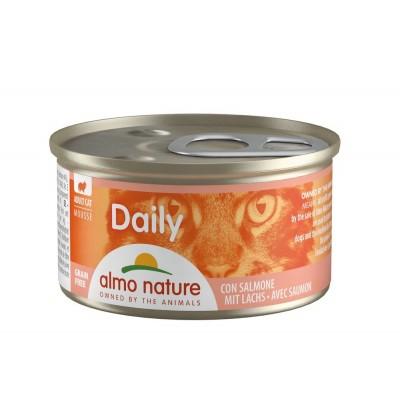 Almo Nature Menu Daily Sans céréale Mousse au saumon Almo Nature 85 g ALC158