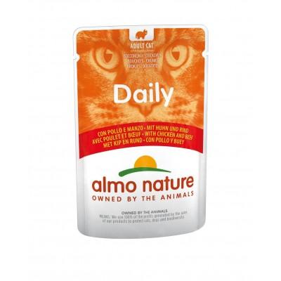 Almo Nature Pâtée en pochon HFC Daily Poulet & Boeuf Almo Nature 70 g ALC5271