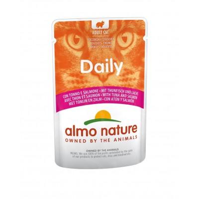 Almo Nature Pâtée en pochon HFC Daily Thon & Saumon Almo Nature 70 g ALC5274
