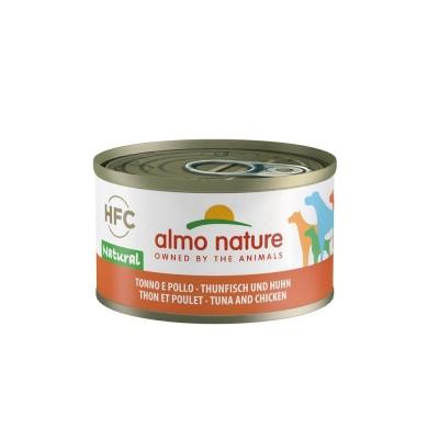 Almo Nature Pâtée HFC Natural Thon & Poulet Almo nature 95 g ALD5542