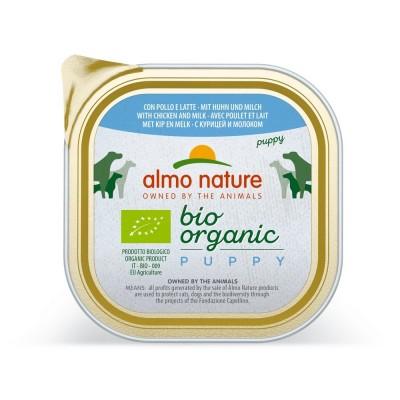 Almo Nature Pâtée BioOrganic Puppy Poulet & Lait Almo Nature 300 g ALD330