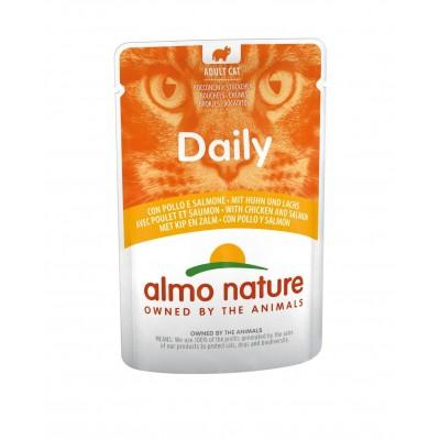 Almo Nature Pâtée en pochon Daily Poulet & Saumon Almo Nature 85 g ALC5270