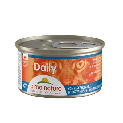 Almo Nature Menu Daily Sans céréale Mousse aux poissons de l'océan Almo Nature 85 g ALC152
