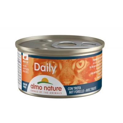Almo Nature Menu Daily Sans céréale Truite en morceaux Almo Nature 85 g ALC151