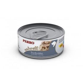 Boites & sachets Morceaux Filet de thon aux riz - Perro Natural - Nourriture pour chien