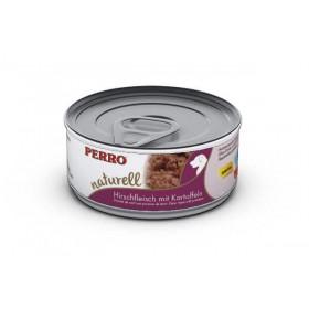 Boites & sachets Morceaux Cerf aux pommes de terre - Perro Natural - Nourriture pour chien