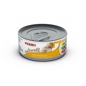 Boites & sachets Morceaux Poitrine de Poulet - Perro Natural - Nourriture pour chat