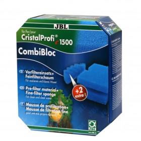 Mousse bleu JBL CombiBloc CristalProfi e-JBL-6015900