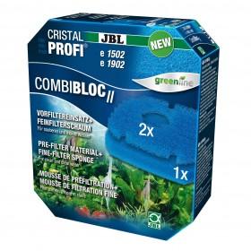 Mousse bleu JBL CombiBloc II CristalProfi e-JBL-6028800