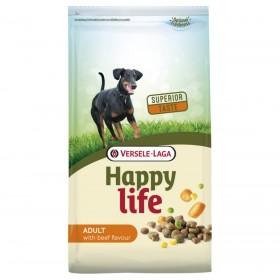 Croquettes Happy Life Adult au goût de bœuf-Versele Laga-431103