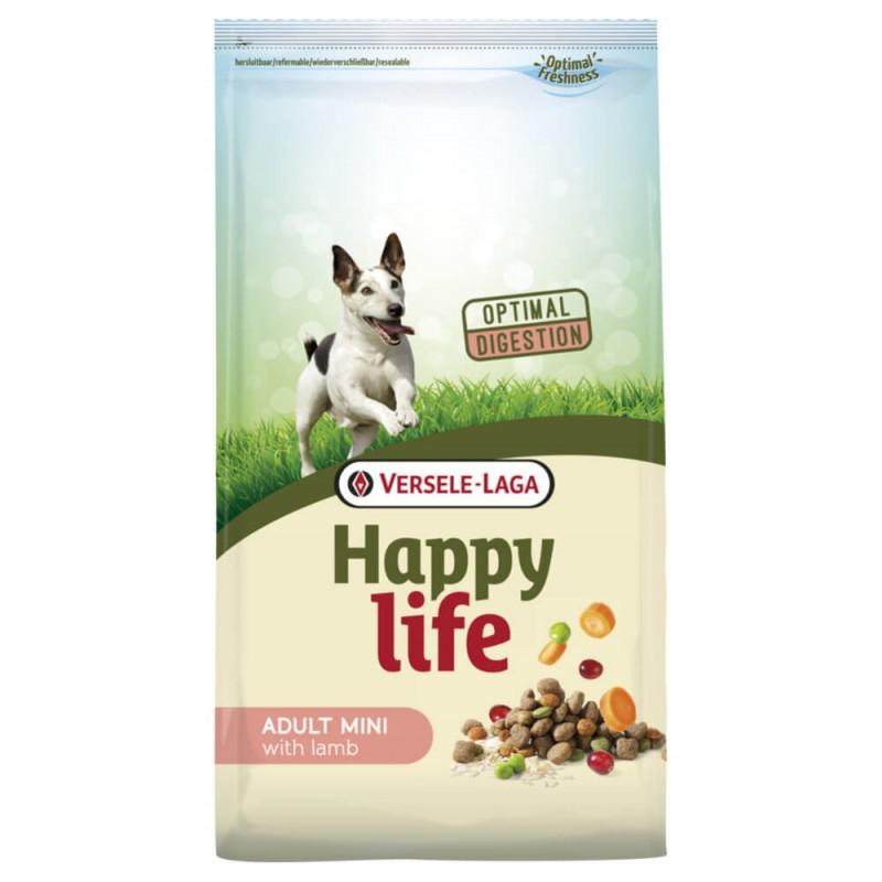 Croquettes Happy Life Adult Mini à l'Agneau