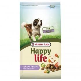 Croquettes Happy Life Senior / Light au Poulet