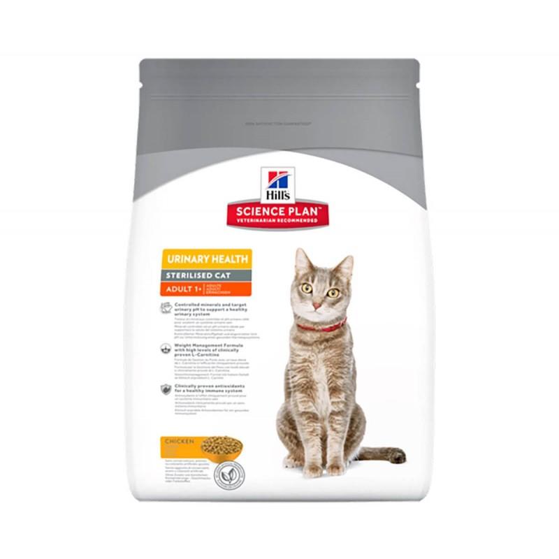 Croquettes Hills Feline Adult Urinary Health  Sterilised Poulet