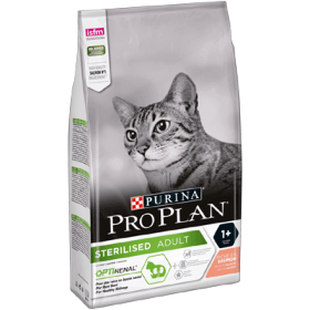 Croquettes Proplan Sterilised Adult riche en Saumon
