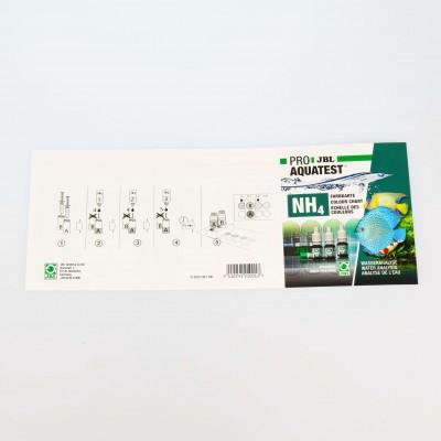 Tests d'eau JBL ProAquaTest NH4 Ammonium