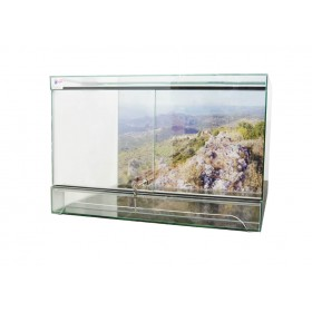 Terrarium Made in Alsace 120 x 40 x 50 cm-HP Aquarium-00000